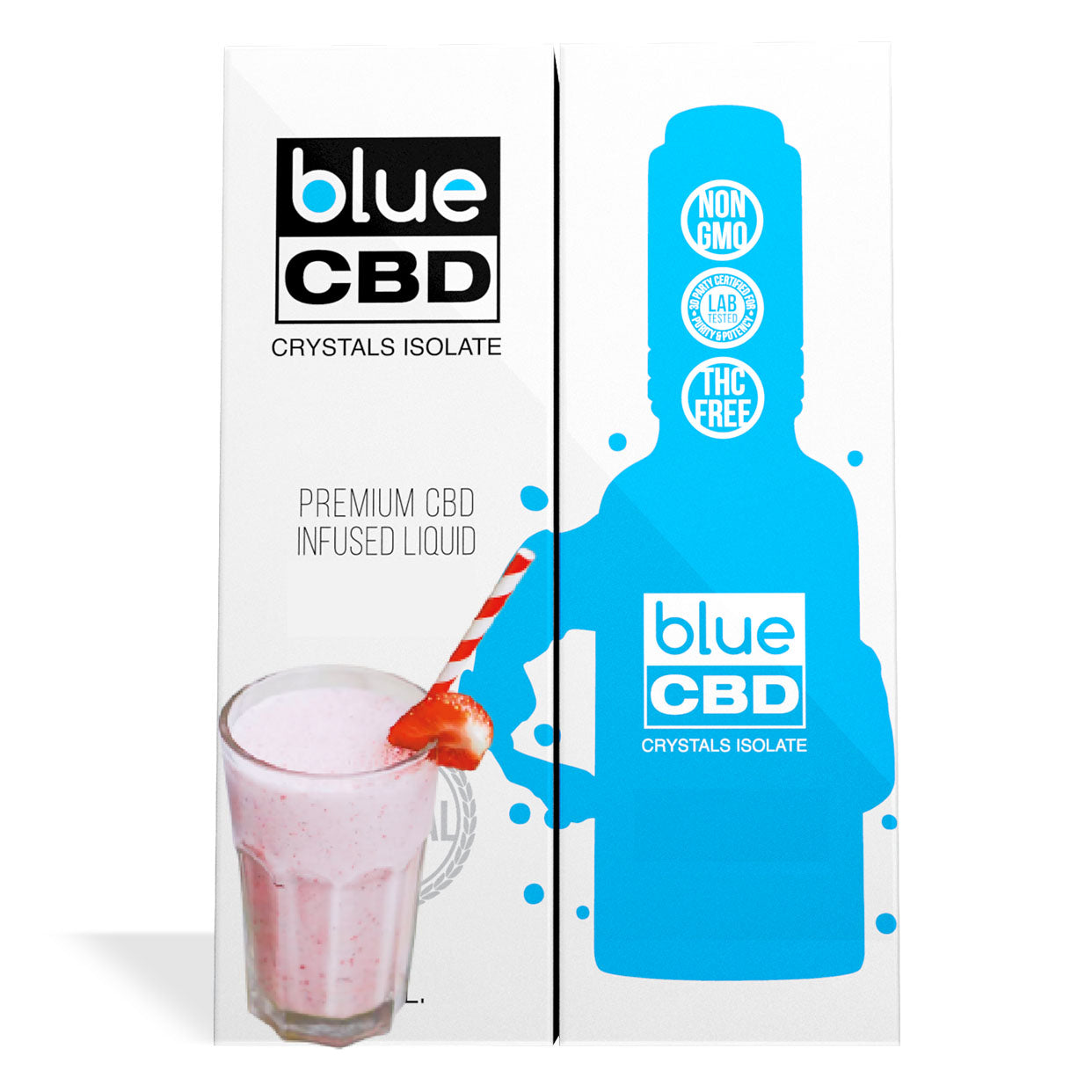 Strawberry Milk Flavor Blue CBD Crystal Isolate - My CBD Mall