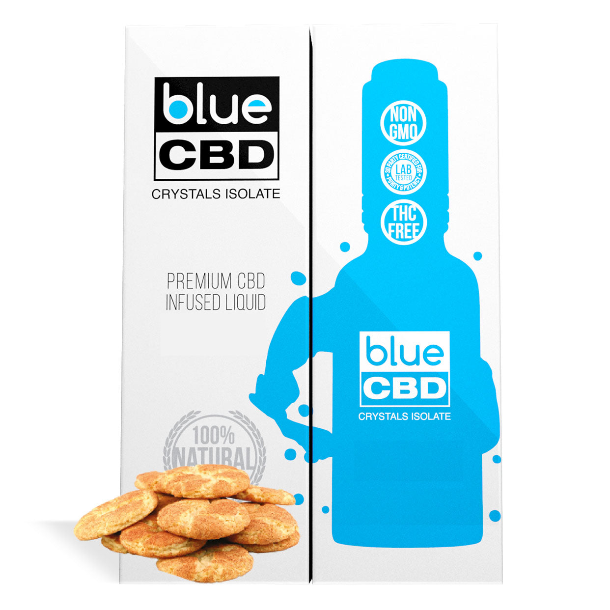 Snickerdoodle Flavor Blue CBD Crystal Isolate - My CBD Mall