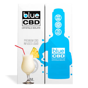 Piña Colada Flavor Blue CBD Crystal Isolate - My CBD Mall