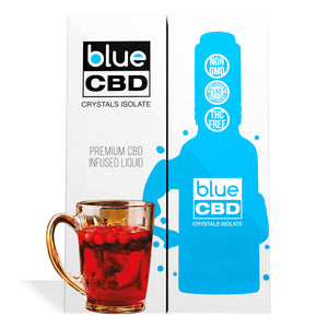 Orchard Punch Flavor Blue CBD Crystal Isolate - My CBD Mall