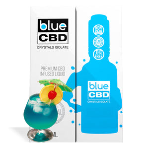 Hawaiian Drink Flavor Blue CBD Crystal Isolate - My CBD Mall