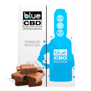 Fudge Brownie Flavor Blue CBD Crystal Isolate - My CBD Mall