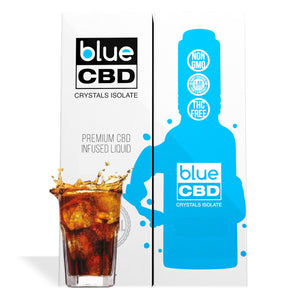 Cola Flavor Blue CBD Crystal Isolate - My CBD Mall