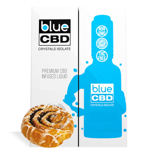 Cinnamon Danish Flavor Blue CBD Crystal Isolate - My CBD Mall
