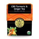 CBD Turmeric & Ginger Tea - My CBD Mall