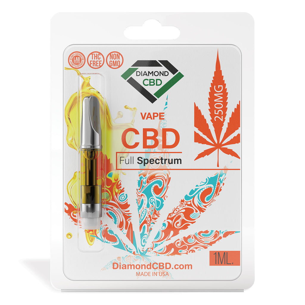 Diamond CBD Full Spectrum [Vape Tank] 250mg - My CBD Mall