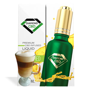 Cappuccino Flavor Diamond CBD Oil - My CBD Mall