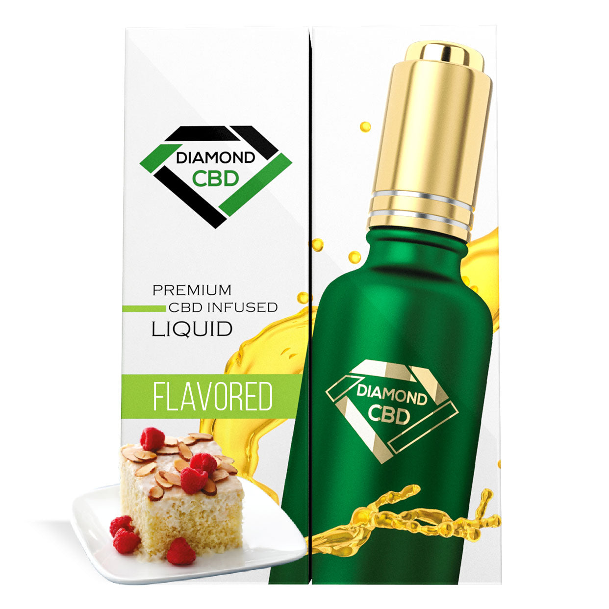 Tres Leches Flavor Diamond CBD Oil - My CBD Mall