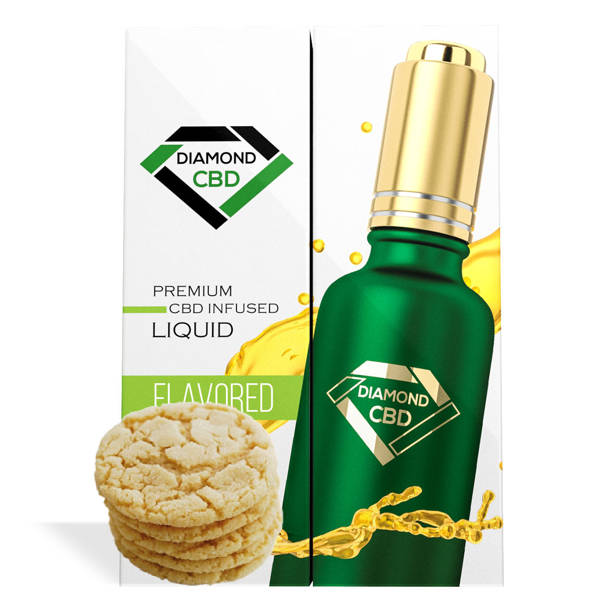 Sugar Cookie Flavor Diamond CBD Oil - My CBD Mall