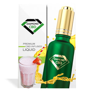 Strawberry Milk Flavor Diamond CBD Oil - My CBD Mall