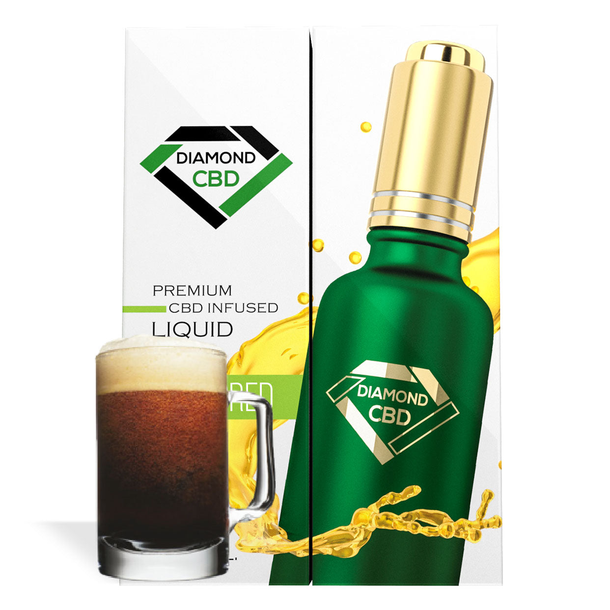 Root Beer Flavor Diamond CBD Oil - My CBD Mall