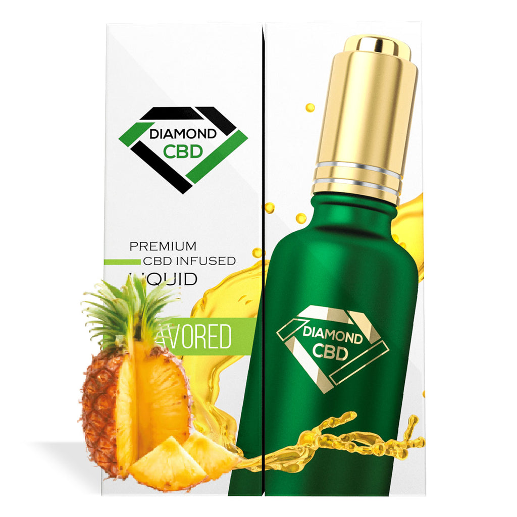 Pineapple Flavor Diamond CBD Oil - My CBD Mall