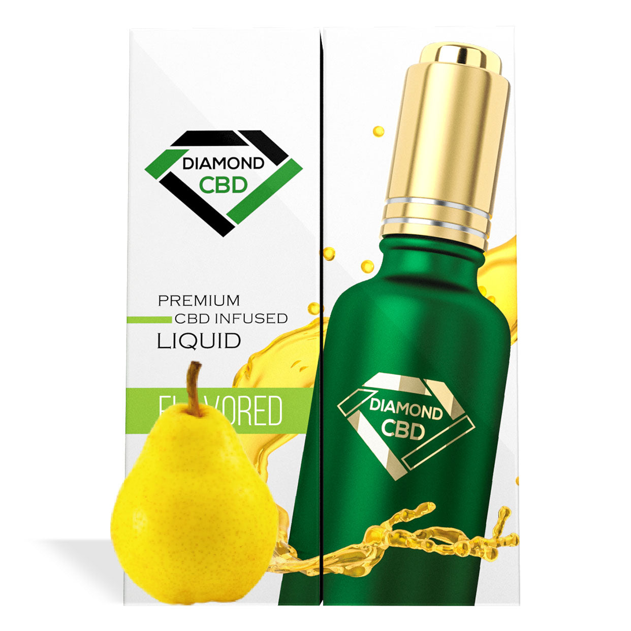 Pear Flavor Diamond CBD Oil - My CBD Mall