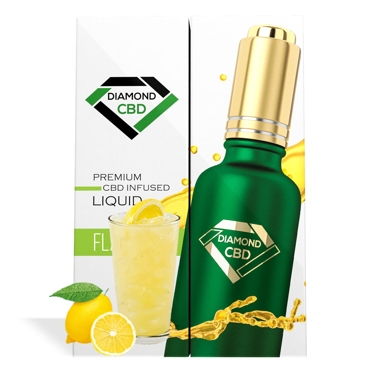 Lemonade Flavor Diamond CBD Oil - My CBD Mall