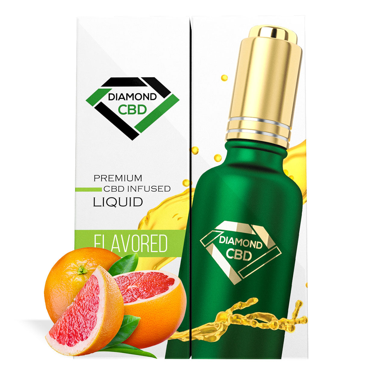 Grapefruit Flavor Diamond CBD Oil - My CBD Mall