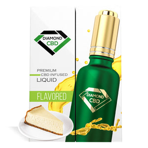 Cheesecake Flavor Diamond CBD Oil - My CBD Mall