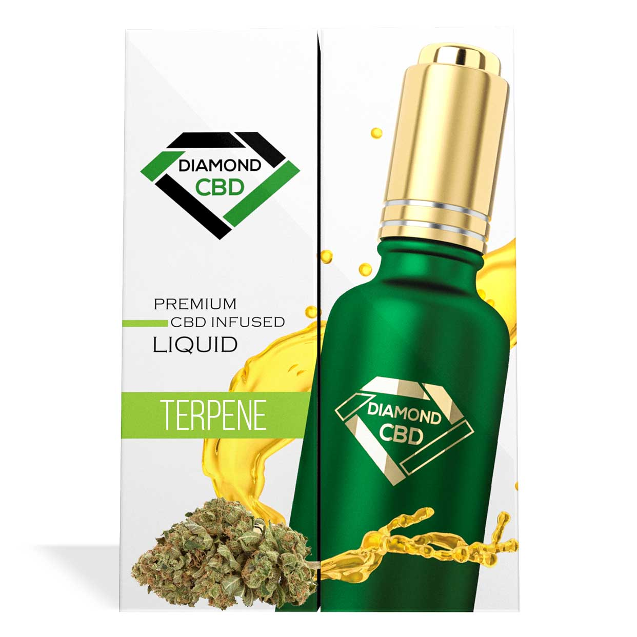 Jack Herer Terpenes Diamond CBD Oil - My CBD Mall