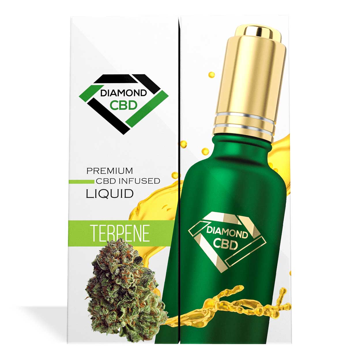Yoda OG Terpenes Diamond CBD Oil - My CBD Mall
