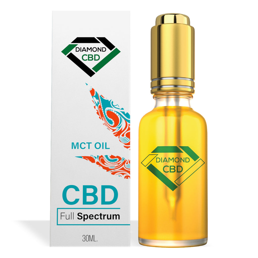Diamond CBD Full Spectrum MCT Oil - My CBD Mall