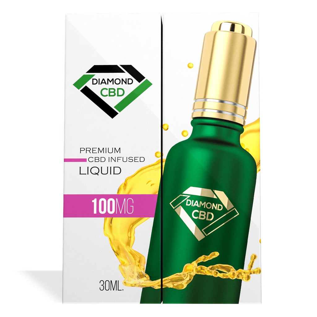 Unflavored Diamond CBD Oil 100MG - My CBD Mall