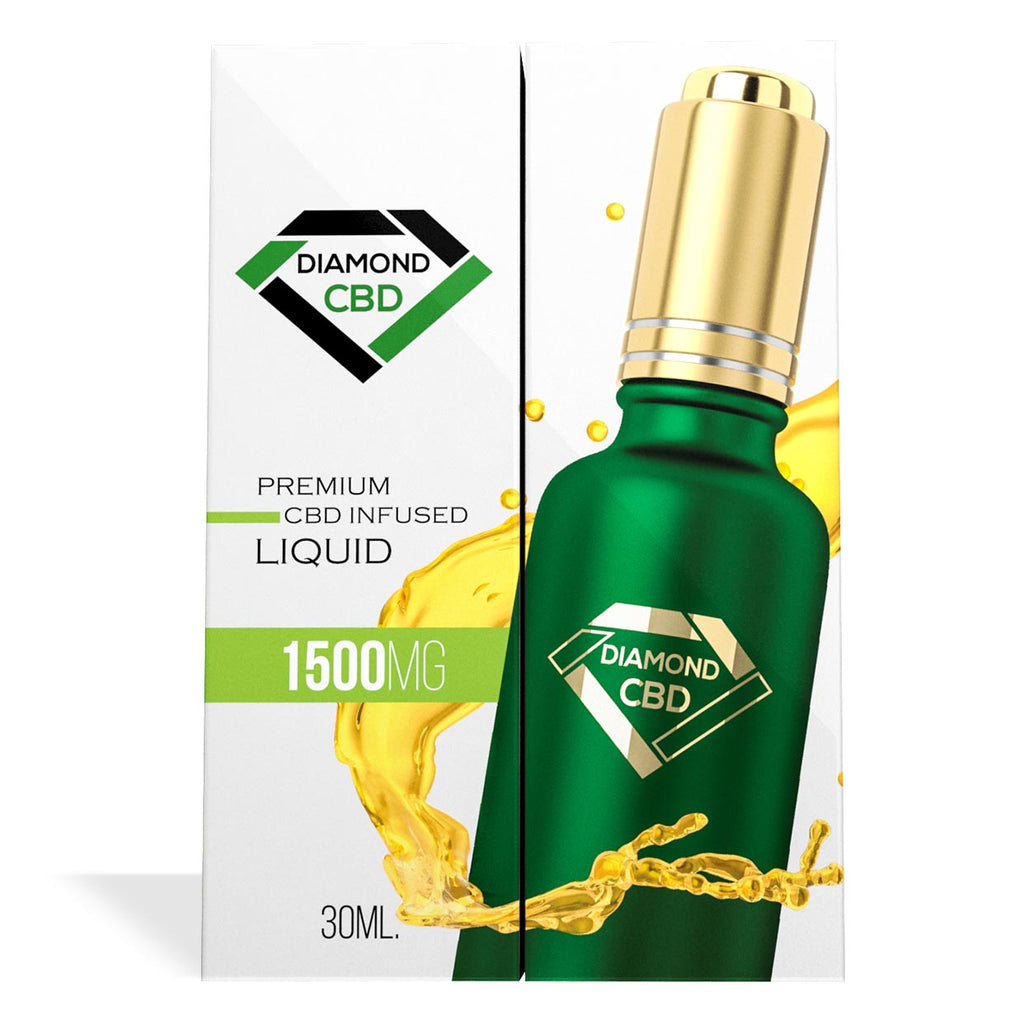 Unflavored Diamond CBD Oil 1500MG - My CBD Mall