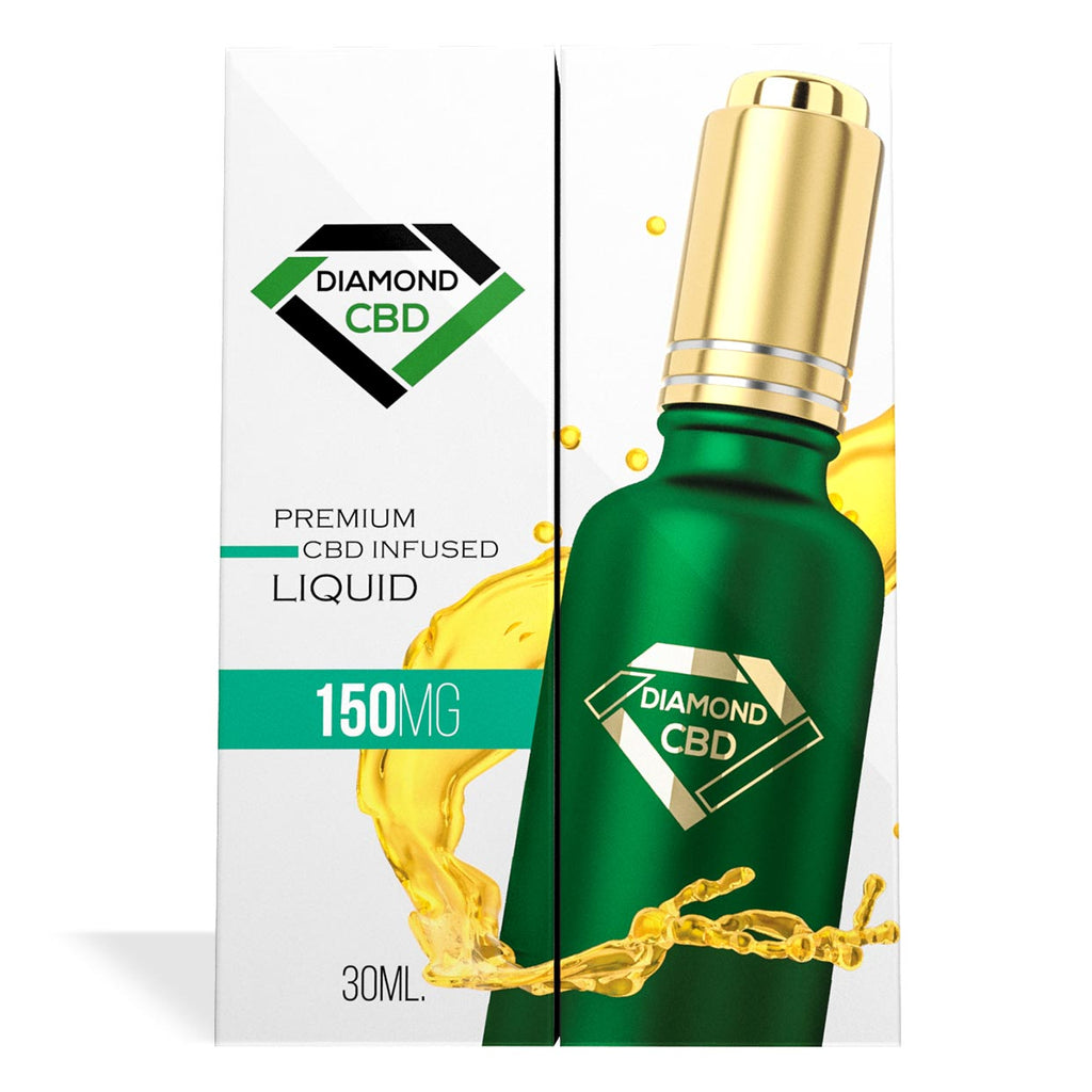 Unflavored Diamond CBD Oil 150MG - My CBD Mall
