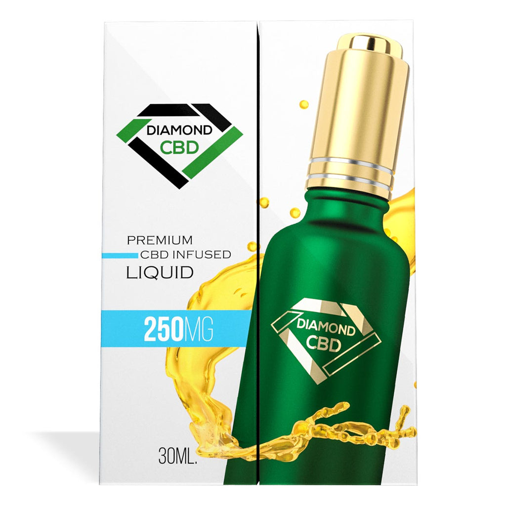 Unflavored Diamond CBD Oil 250MG - My CBD Mall