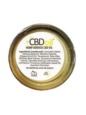 PlusCBD Oil – Hemp Balm 1.3oz (50-100mg CBD) - My CBD Mall