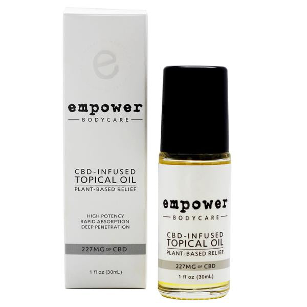 EMPOWER® TOPICAL RELIEF OIL - My CBD Mall