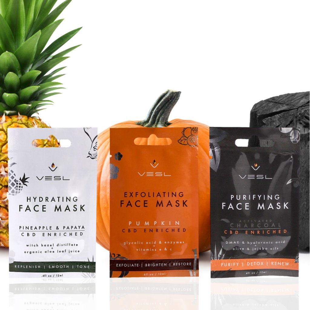VESL CBD FACE MASK BUNDLE PACK