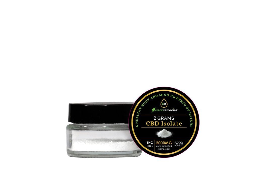 99+% Pure CBD Isolate Powder - My CBD Mall
