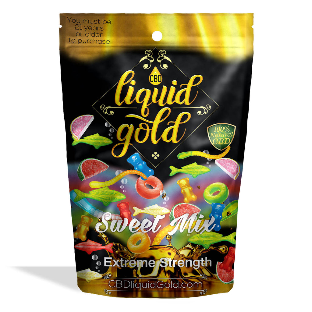 Liquid Gold Gummies Sweet Mix - My CBD Mall