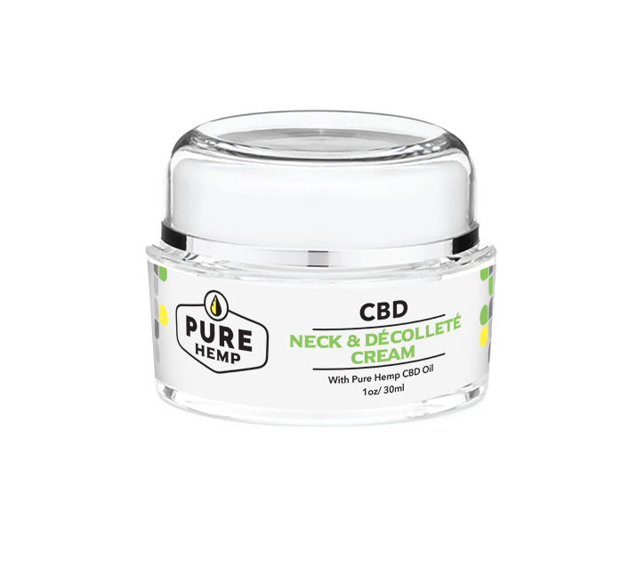 Neck and Decollete Cream - My CBD Mall