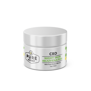 Night Skin Rejuvenator Cream - My CBD Mall