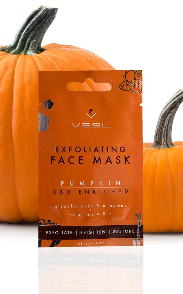 VESL EXFOLIATING FACE MASK - PUMPKIN
