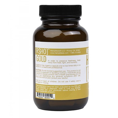 Gold Label CBD Oil Capsules | 30 count - My CBD Mall