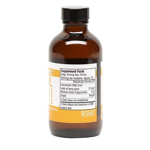 Gold Label CBD Liquid Oil – 1000mg | 4oz - My CBD Mall