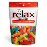 Relax Gummies - CBD Infused Sour Snakes [Edible Candy] 200mg - My CBD Mall