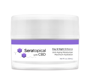 CBD Cream: Seratopical Day & Night Brilliance Cream - My CBD Mall