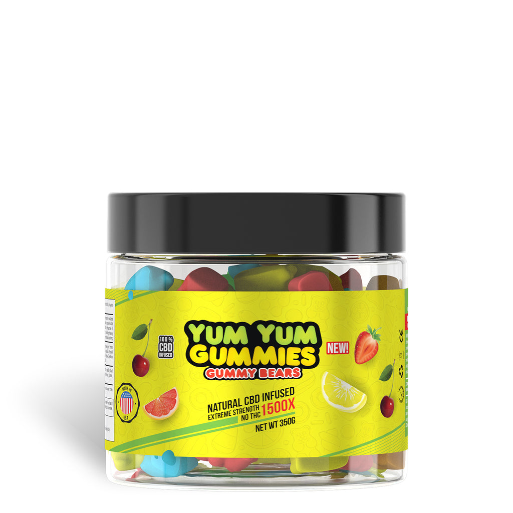 Yum Yum Gummies 1500x - CBD Infused Gummies [Edible Candy] - My CBD Mall
