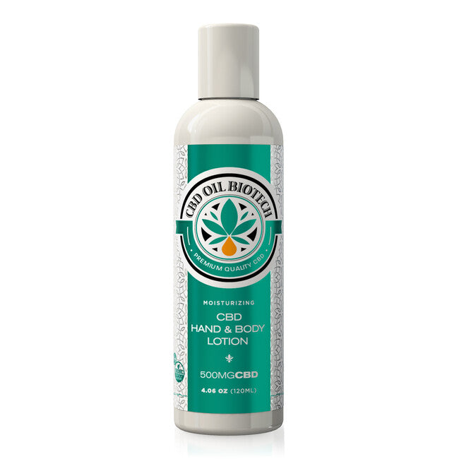CBD Oil Biotech Hand & Body Lotion - 500mg - My CBD Mall