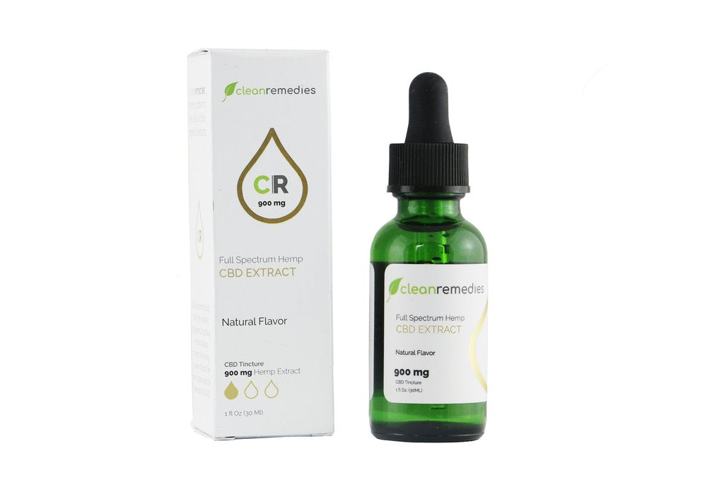 900mg Full Spectrum Hemp CBD Extract - My CBD Mall