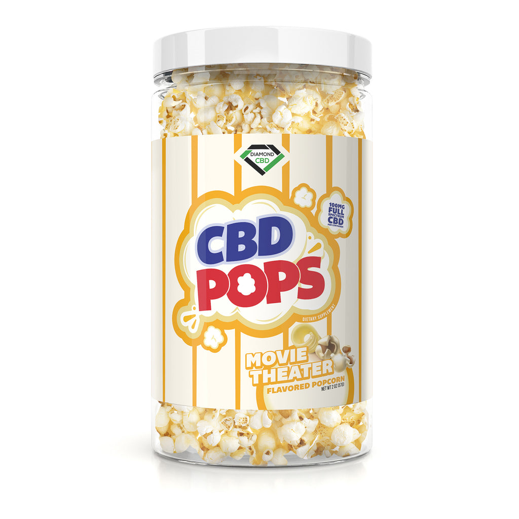 Diamond CBD Popcorn - Movie Theatre - 100mg - My CBD Mall