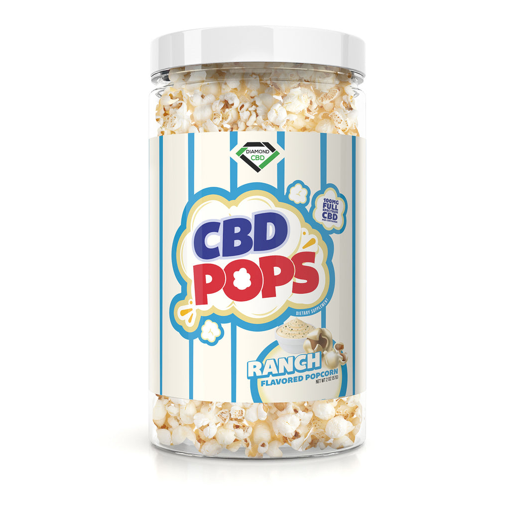 Diamond CBD Popcorn - Ranch - 100mg - My CBD Mall