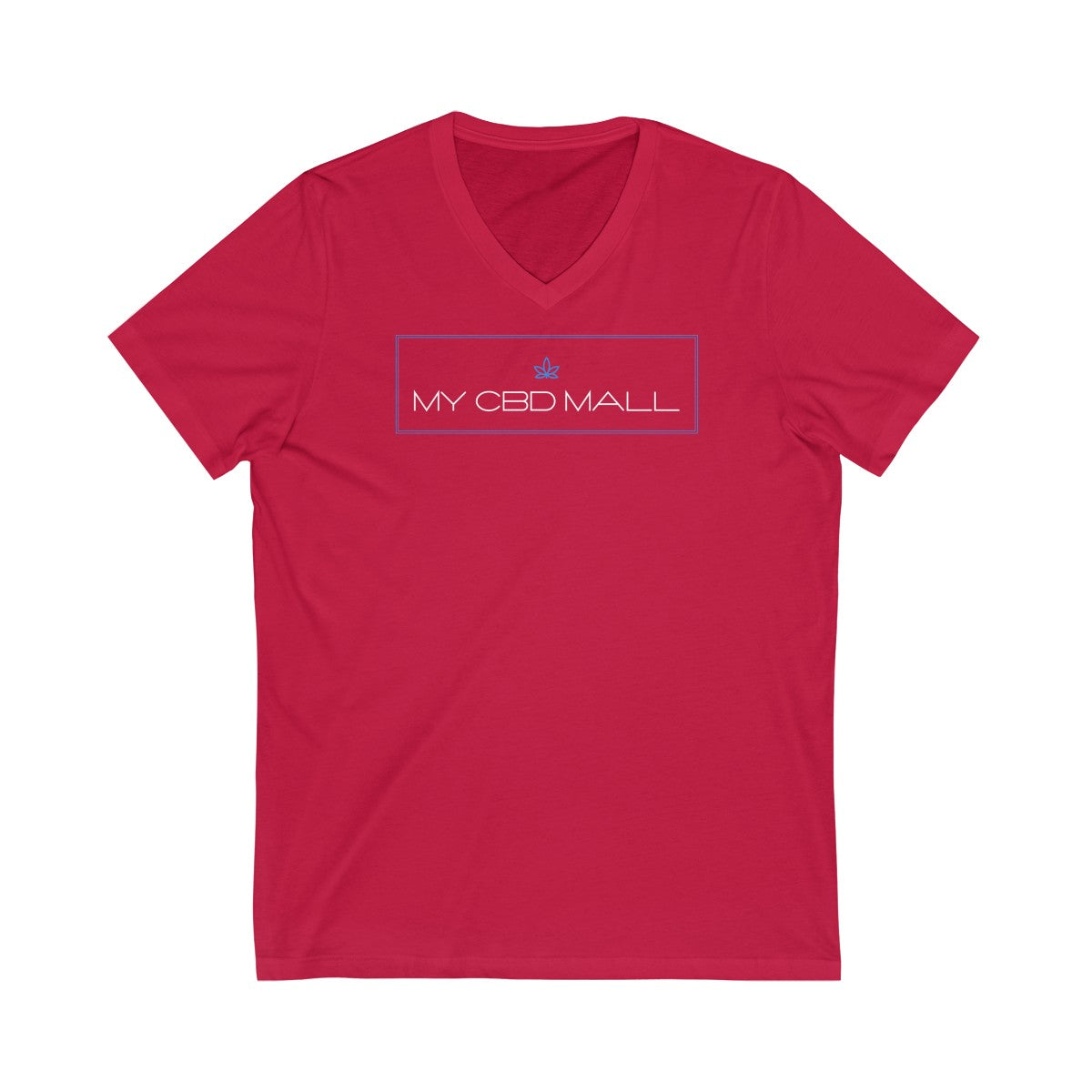 Unisex Jersey Short Sleeve V-Neck Tee - My CBD Mall