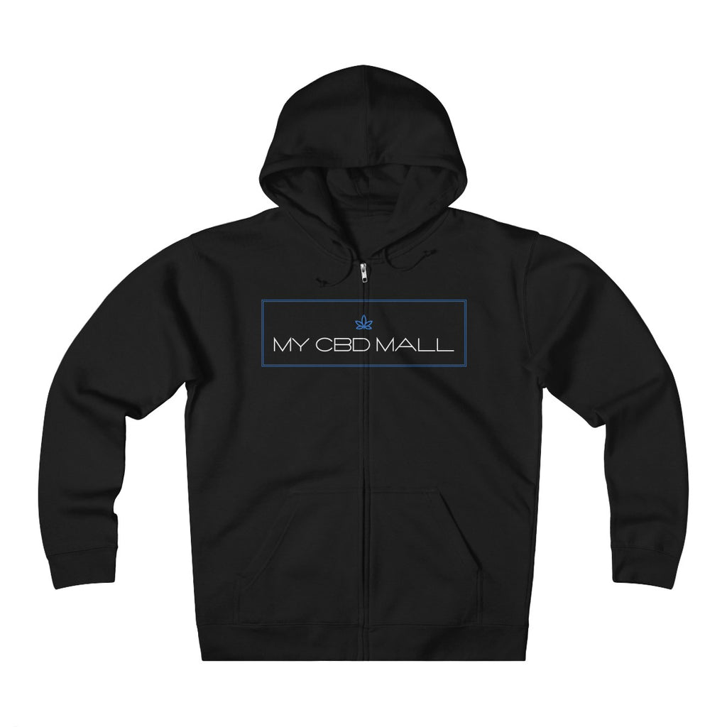 My CBD Mall Unisex Heavyweight Fleece Zip Hoodie - My CBD Mall