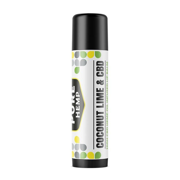 CBD Infused Lip Balm - Coconut Lime - My CBD Mall