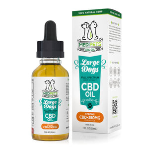 MediPets CBD Oil for Large Dogs - Strong Strength - 350mg (30ml) - My CBD Mall