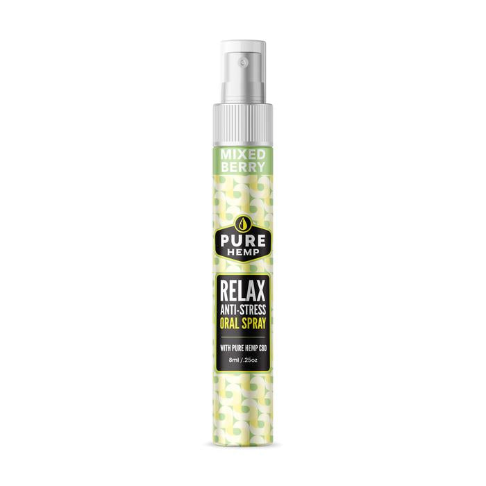 CBD Anti-Stress & Relaxation Oral Spray - 60mg - My CBD Mall
