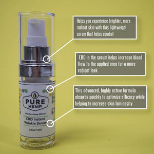 CBD Instant Wrinkle Serum - My CBD Mall